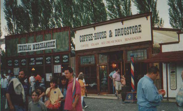 Westernstadt in Sindelfingen - Coffee-House und Generalstore zerlegbar